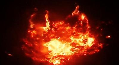 隕石落下 ラトビア
